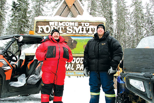McMurray men take to ATVs to help homeless