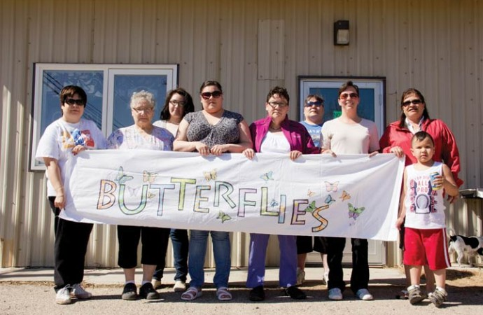 New Butterflies grow wings for Relay for Life