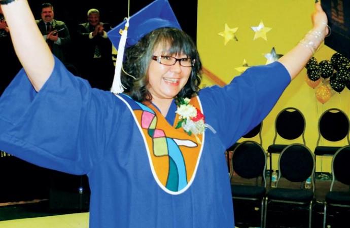 Inuvik's Aurora campus celebrates small grad