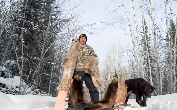 Hay River trapper Andrew Stanley is the focus of the new outdoors reality TV show Trapped, showcasing the life of a subsistence trapper and giving an inside look into the fur industry.