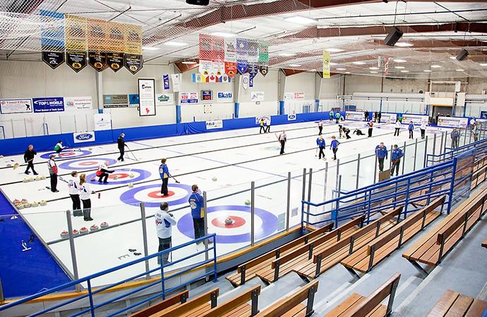 Yellowknife sweeps open doors to Canada's senior curlers