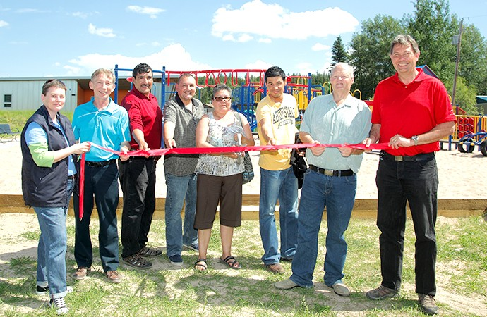 New playground for Fort Chipewyan youth