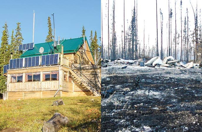 Wildfire destroys eco-tourism lodge