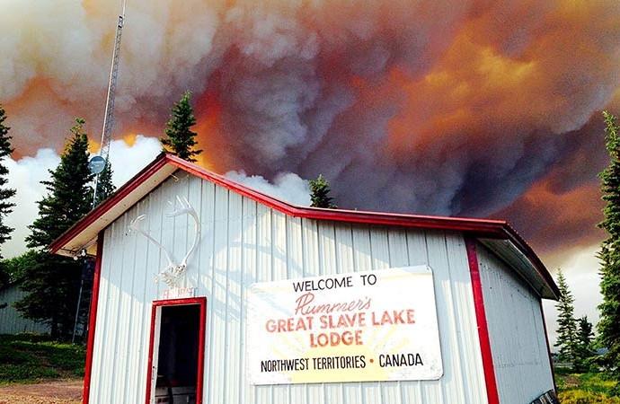 NWT tourism operators make best of bad fire season