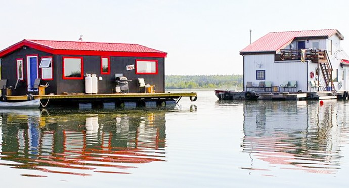 New rooms open up at Yellowknife's floating B&B