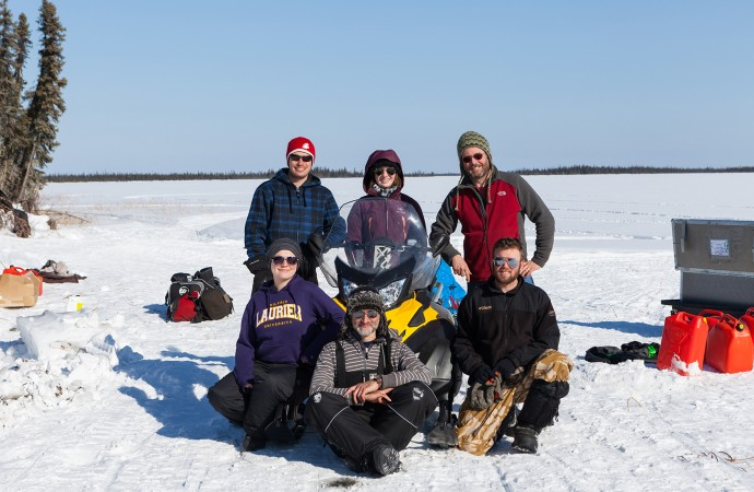 Spreading southern wetlands, drying delta lakes: scientists predict the future of a warmer NWT