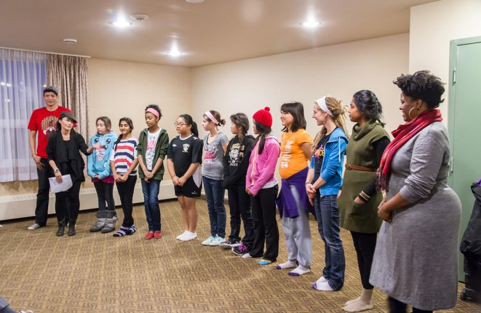 Performing arts tour encourages youth to tell their stories