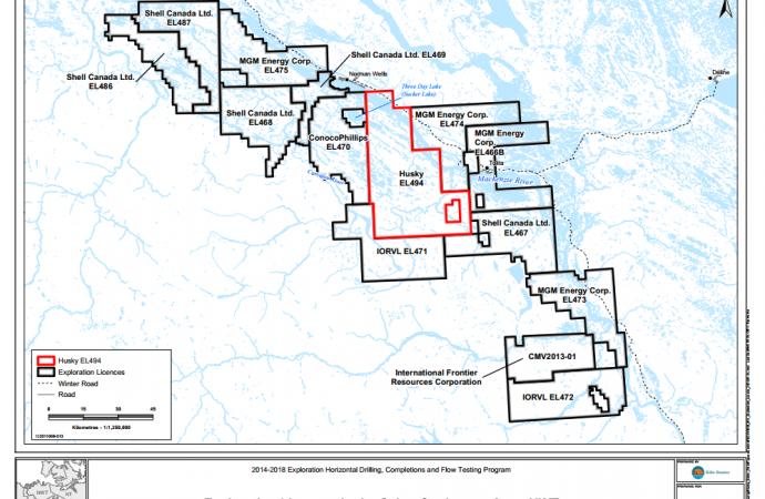 Study estimates 200 billion barrels of shale oil below NWT
