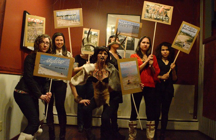 Northern artists say 'NAAH' to hunger pains in the Arctic