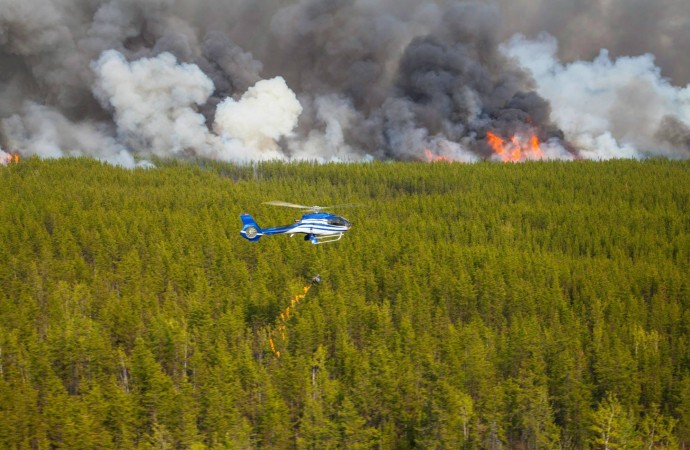 'Well on our way to another record drought code year': NWT fire manager