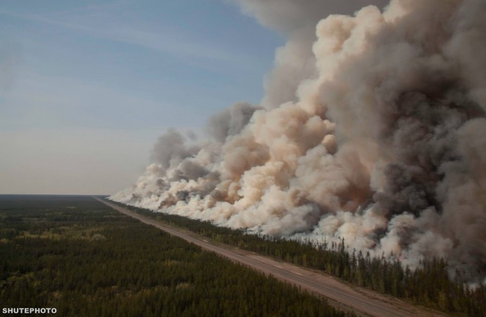 Wildfires dampened as north winds bring rain, lightning