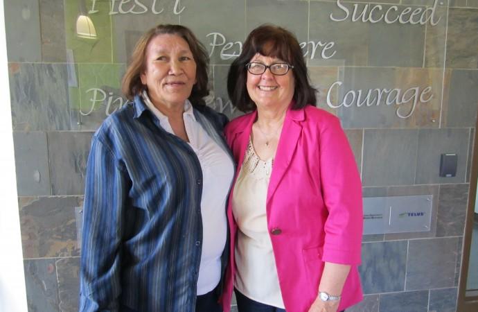 Fort Chipewyan's original college instructor retires