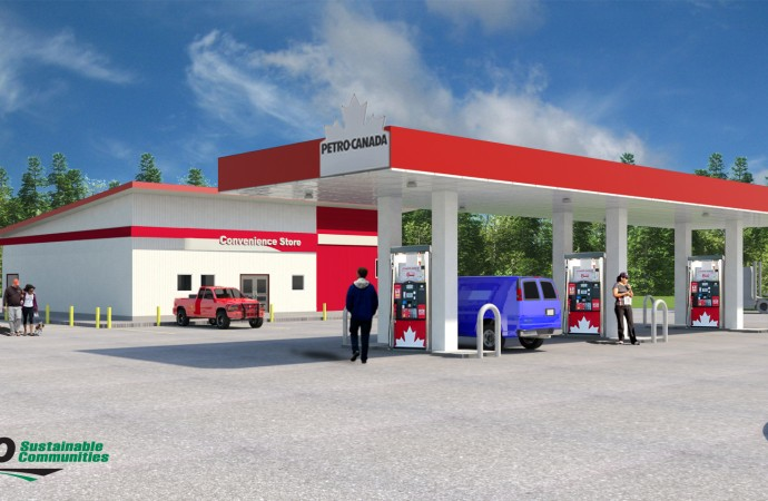 Salt River First Nation teams up with ATCO to build new gas station