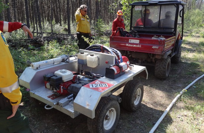 NASA tests space technology on new fire shelters near Fort Providence