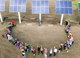Little Buffalo solar project powers local health centre