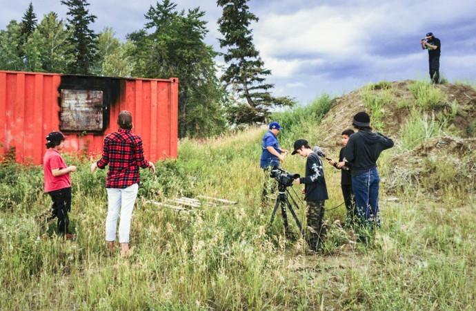 Youth film workshops foster creativity through new media