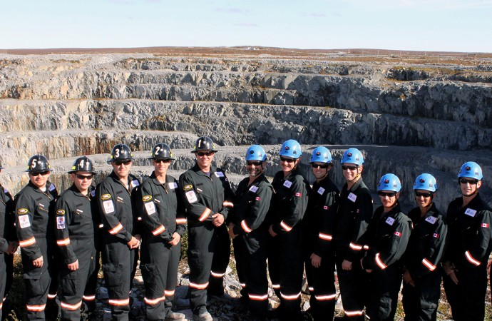 Ekati Mine rescue team wins national safety competition