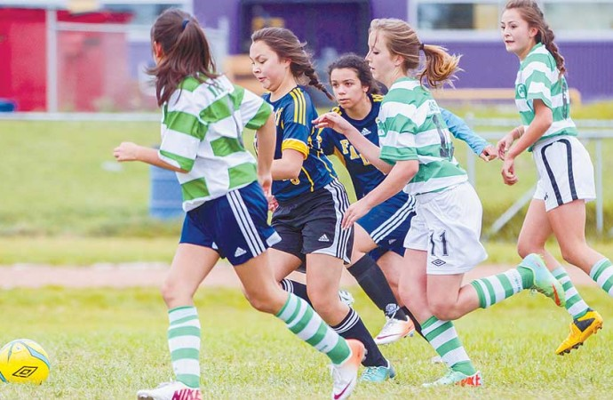 Exciting action, close scores at NWT soccer championships
