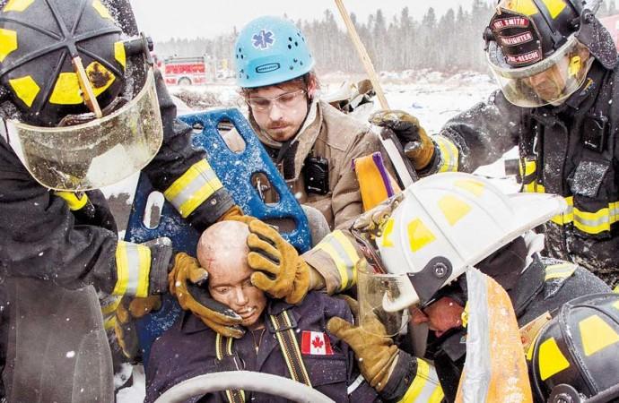 Fort Smith firefighters redefine 'weekend warrior'