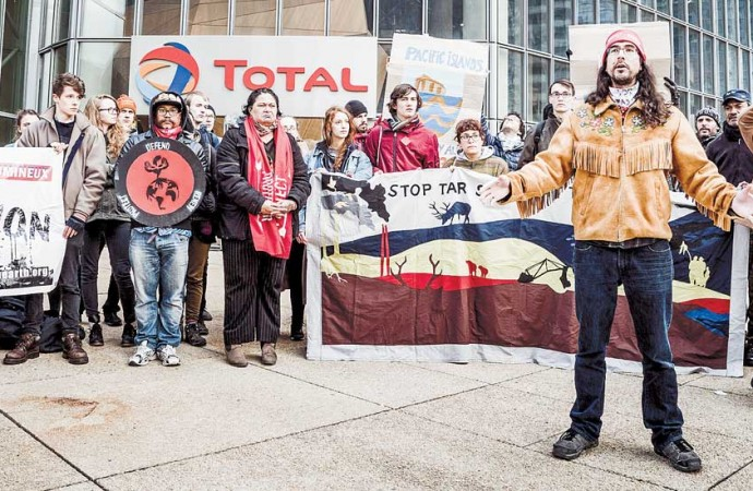 Northerners join Paris invasion at COP21 forum
