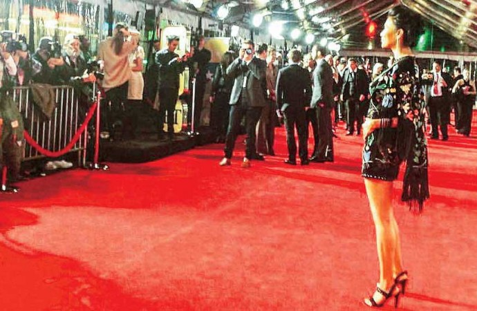 Yellowknife actress sets Hollywood red carpet on fire