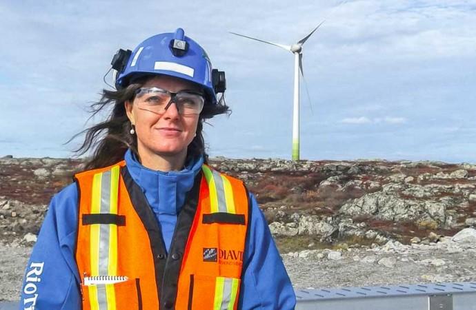 Wind farm at Diavik reduces mine's carbon footprint