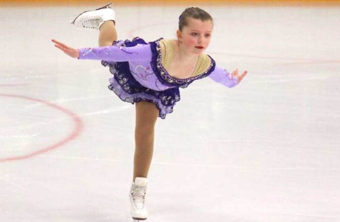 Figure Skaters grace Fort Smith arena during territorial championship competition
