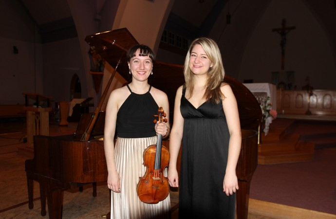Virtuoso duo charms and enthralls NWT audiences