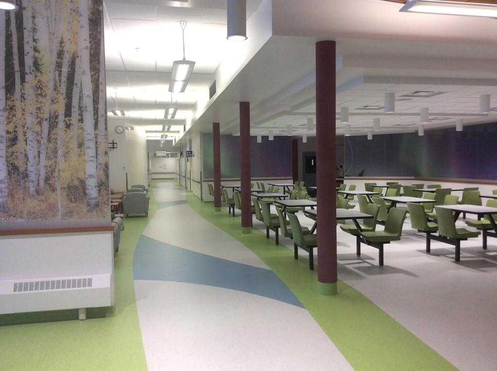 Hay River Regional Health Center - Cafeteria.