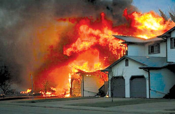 Struggling through after-effects of Slave Lake fire