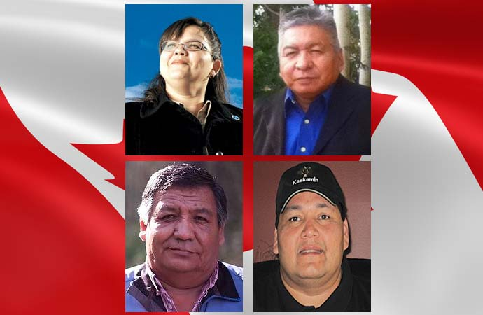 Four candidates for chief speak in their own words