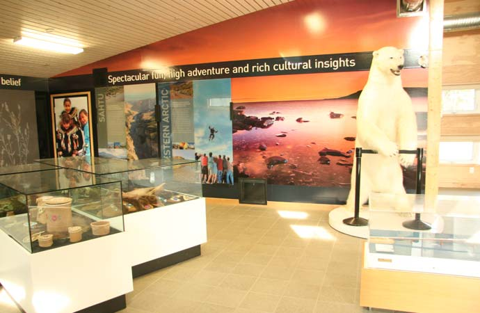 New 60th parallel visitor centre shines