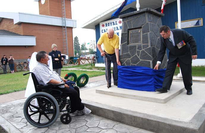Fort Smith Legion unveils new cenotaph