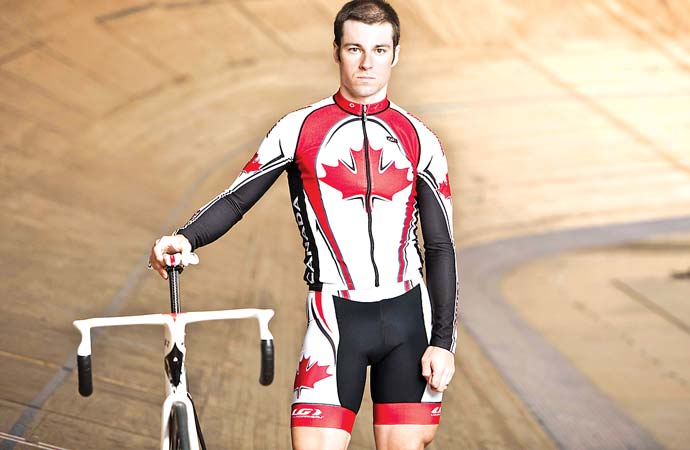 Veteran cyclist embraces role of a mentor