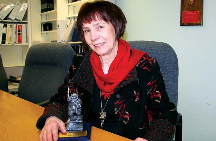 Fort Smith francophone honoured for decades of volunteer work