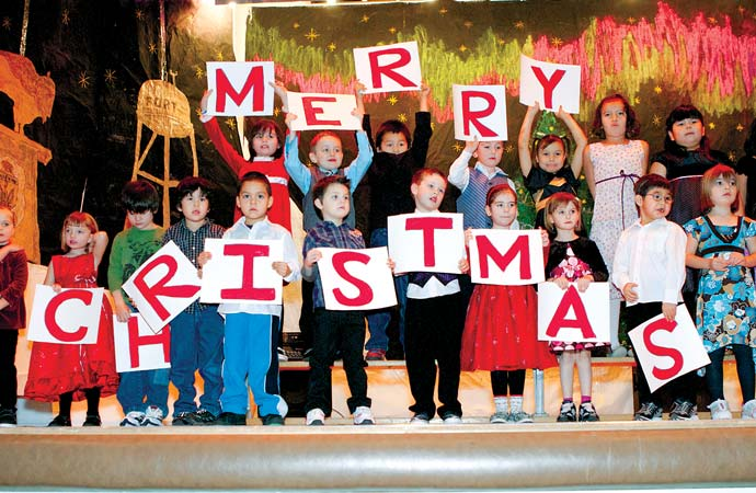 JBT kids mix local history of Fort Smith with classics at annual Christmas concert