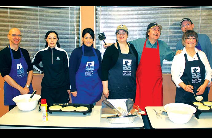 College capers – fun for all during Aurora College Week