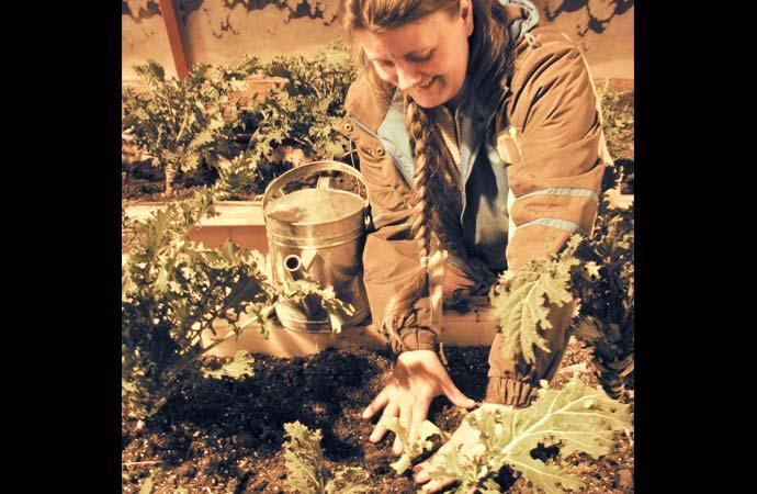 Farm school germinates interest in local food