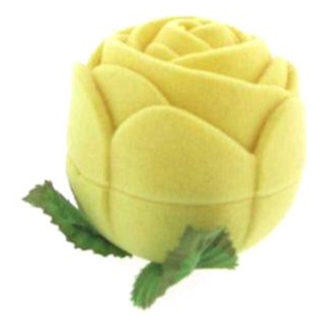 Yellow Rose Ring Box