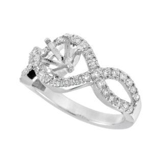 437020 Diamond Semimount