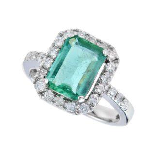 4465E Vintage Sapphire & Diamond Semi Mount in 14KT