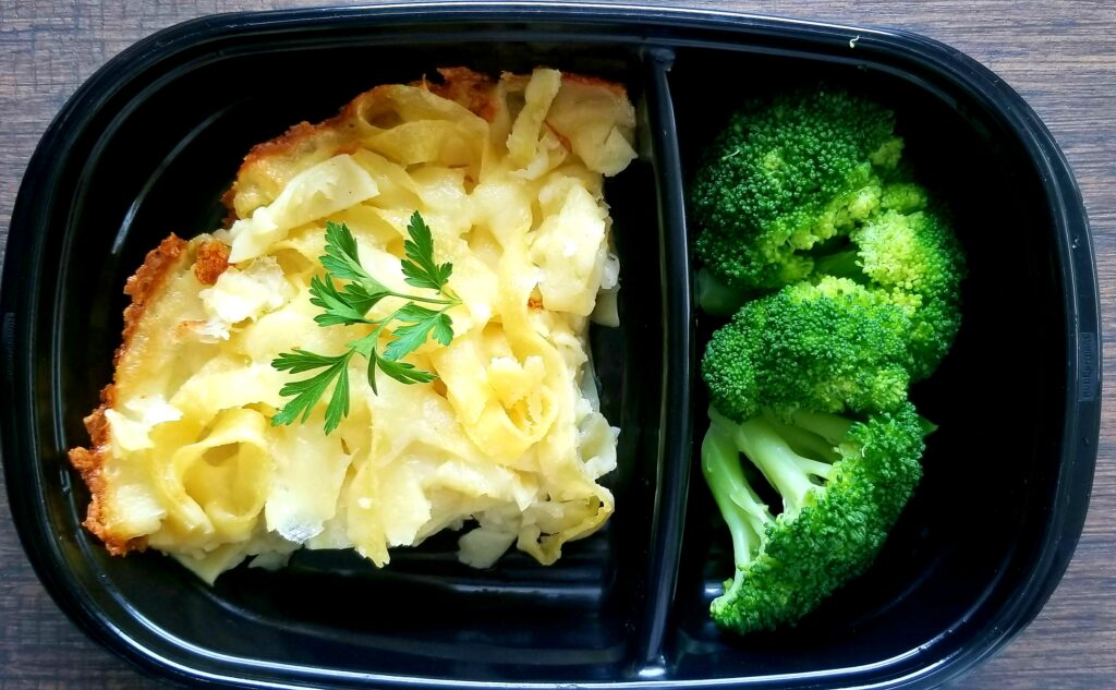 baked pasta broccoli parsley