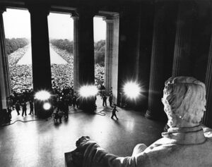 martin luther king speech from lincoln memorial 1968 democracy