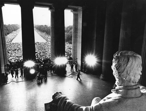martin luther king speech from lincoln memorial 1968