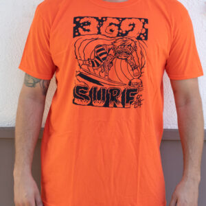 369 Surf Zombie Orange T Shirt