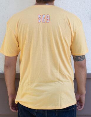 369 Surf Zombie Goofy Yellow T Shirt