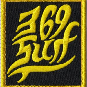 369 Surf Single Fin Patch