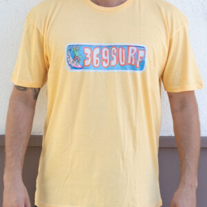 369 Surf Zombie Goofy Yellow T Shirt