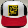 369 Surf Single Fin Patch Trucker Hat Black/White/Red/Gold