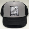 369 Surf Zombie Trucker Hat Black/Grey/White